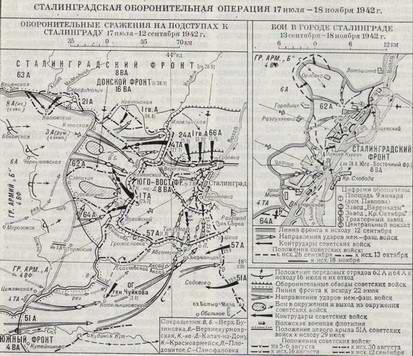 Сталинградского фронта.